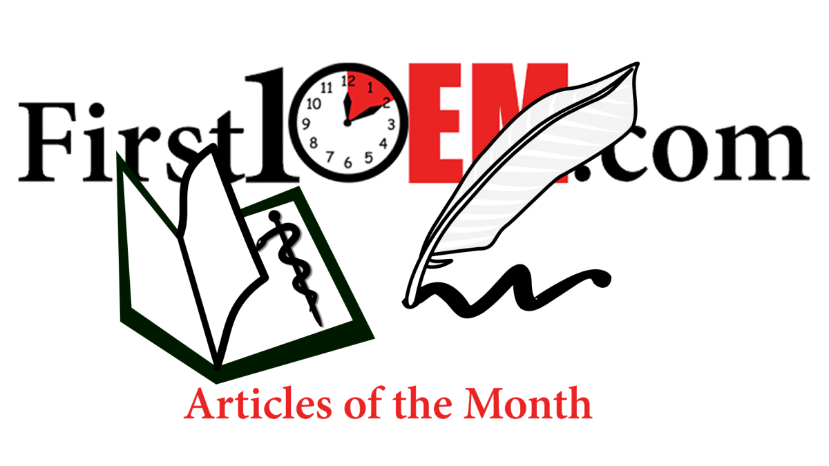 Articles of the month (May 2016)