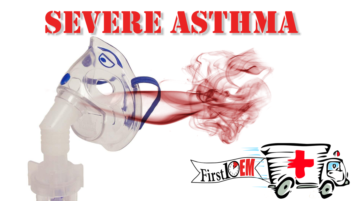 Management of life threatening asthma in the emergencydepartment
