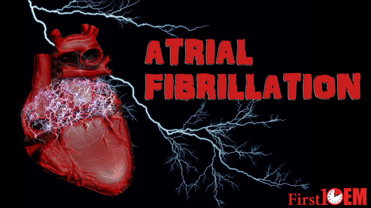 Management of unstable atrial fibrillation in the emergency department