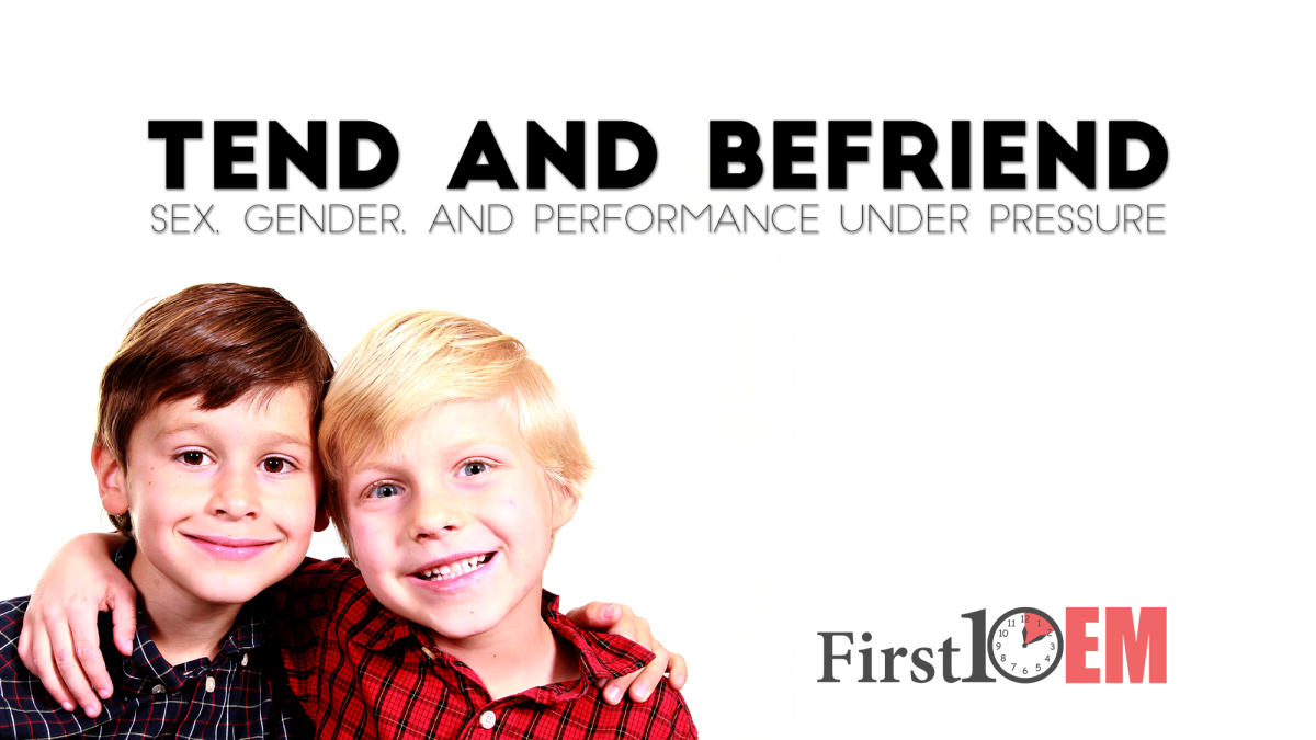 Tend and Befriend: Sex, gender, and performance under pressure
